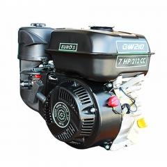 Двигатель GrunWelt GW210-S, NEW, бенз7.0 л.с. 212сс, (шпонка 20мм)