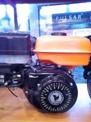 Бензиновый двигатель 7 л/с 19 вал шкив на 3 ручья