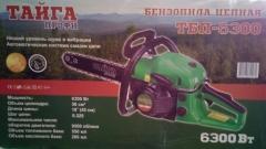 Бензопила Тайга ТБП 6300