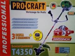 Бензокоса Procraft T 4350 NEW MODRN