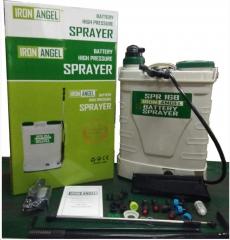 Аккумуляторный опрыскиватель Iron Angel SPR 16B функция 2 в 1: электрическая помпа + ручной