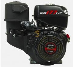 Двигатель WEIMA(Вейма) WM177F-T (9л.с. бензин под шлиц. 25мм)