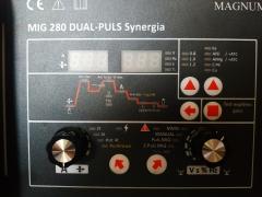 Сварочный полуавтомат для сварки алюминия Луч Профи ALUMIG 280P Double Pulse Synergia
