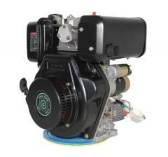 Дизельный двигатель Grünwelt GW 186FBE (9,5 л.с., шлиц - 25мм)