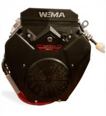Бензиновый  двигатель WEIMA WM2V78F (2 цил., вал шпонка, 20 л.с.)