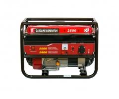Генератор бензиновый WEIMA WM2500 (2,5 кВт, 1 фаза, ручной старт)